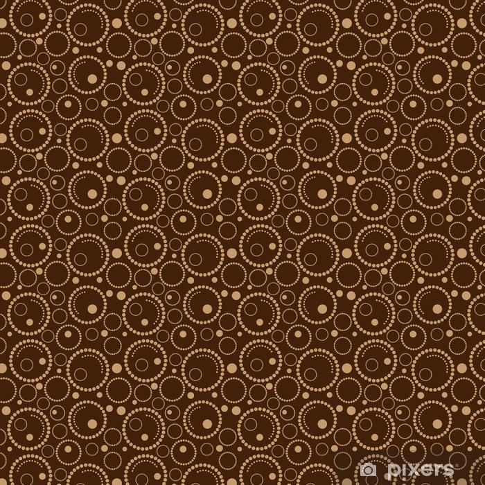 Papier peint à motifs Cercles de fond marron géométrique • Pixers ...