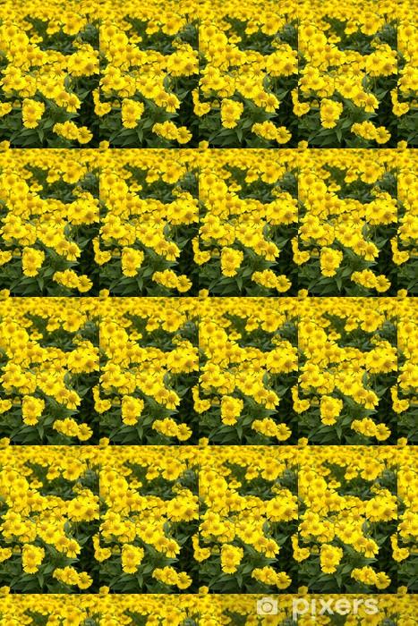 Papier peint vinyle sur mesure Sonnenbraut; Helenium-Hybriden; Canaria - Fleurs