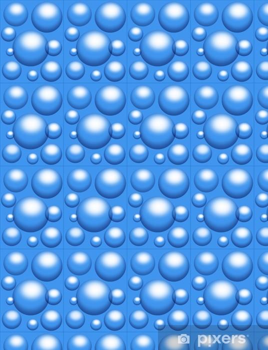 Vinylová tapeta na míru Bolle d'Acqua-Water Bubbles-Bulles d'eau - Struktury