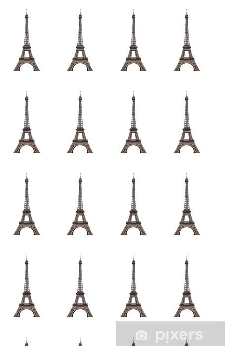 Vinylová tapeta na míru Eiffelova věž zdobené - Evropská města