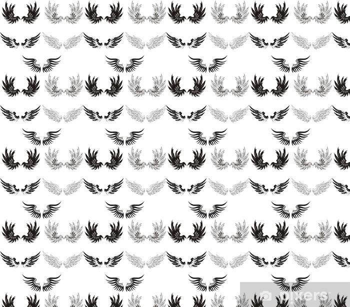 Papier peint vinyle sur mesure Collection des ailes grunges - Textures