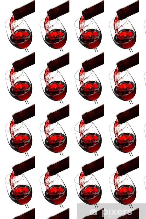 Vinylová tapeta na míru Červené víno - Témata