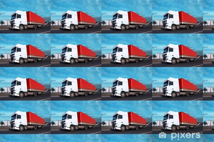 Tapeta na wymiar winylowa Biała głowa - zobacz inne w moim portfelu ciężarówki - Przemysł ciężki