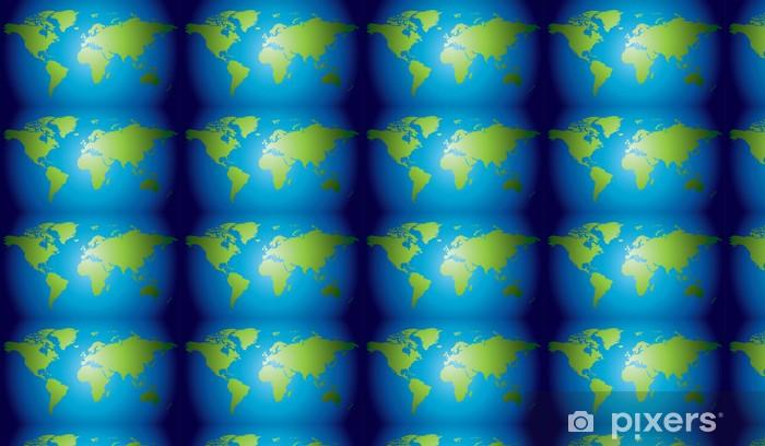 Tapeta na wymiar winylowa Ręcznie rysowane bardzo szczegółowe mapy świata - Tła