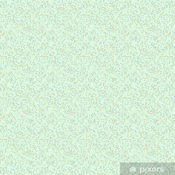 Golden glitter seamless pattern, mint background Vinyl custom-made wallpaper - Graphic Resources