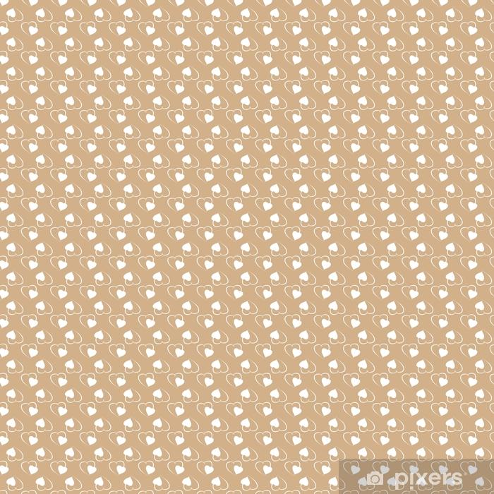 Zelfklevend behang, op maat gemaakt Hart naadloos patroon - Grafische Bronnen