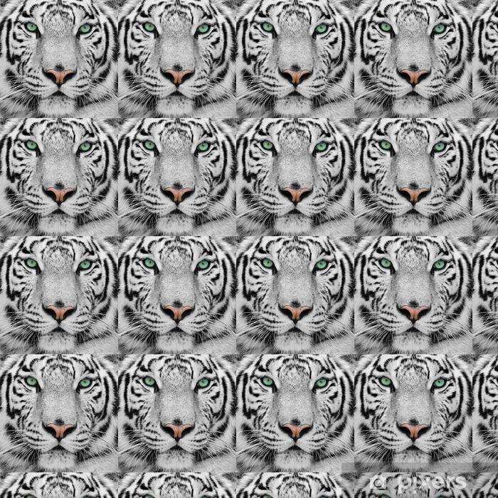 Tapeta na wymiar winylowa Biały tygrys -