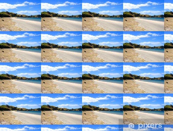 Papel pintado estándar a medida Playa de Whangapoua, Great Barrier Island, Nueva Zelanda - Oceanía