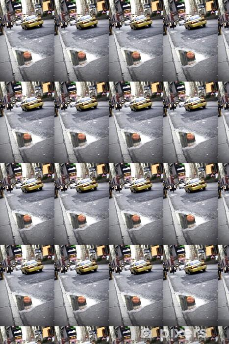 NYC Taxi Vinyl custom-made wallpaper - America