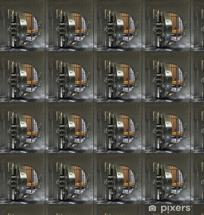 Vinylová tapeta na míru Klasická Trezory - Soukromé budovy