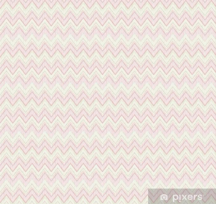 Vinyltapete nach Maß Abstrakte geometrische gekachelte Muster. Stoff-Doodle-Linie Ornament. lineare Zick-Zack-Textur. nahtloser dekorativer Zickzackhintergrund - Grafische Elemente
