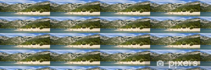 Tapeta na wymiar winylowa Plaża nad jeziorem Świętego Krzyża - Wakacje