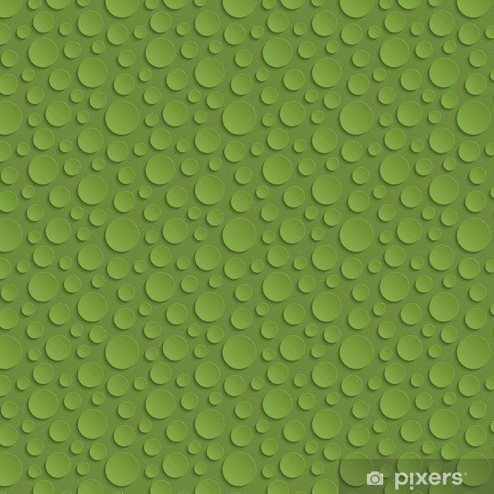 Papel de parede em vinil à sua medida Círculos Verdura Seamless Pattern. - Recursos Gráficos