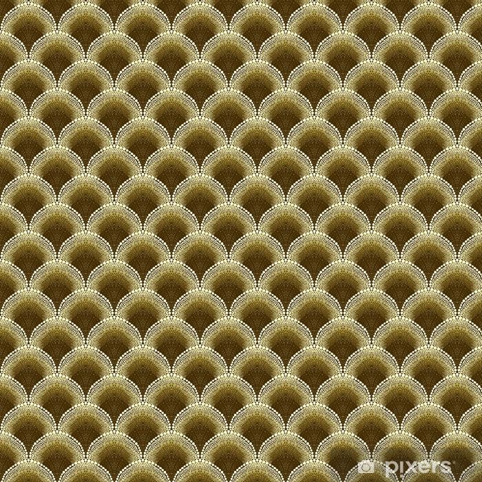 Dotted geometric pattern in art deco style Wallpaper • Pixers ...