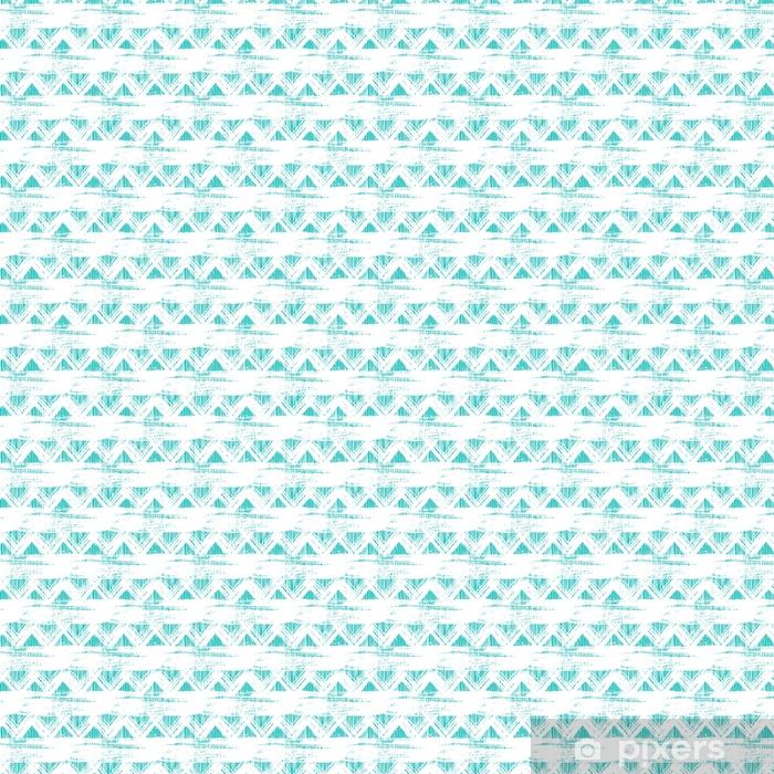 Papel pintado estándar a medida Patrón en zigzag étnico sin fisuras con pinceladas - Recursos gráficos