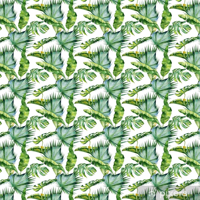 Seamless Watercolor Illustration Of Tropical Leaves Dense Jungle Pattern With Tropic Summertime Motif May Be Used As Background Texture Wrapping Paper Textile Wallpaper Design Wallpaper Pixers We Live To Change Watercolor tropical leavesimage provided by getty images. seamless watercolor illustration of tropical leaves dense jungle pattern with tropic summertime motif may be used as background texture wrapping paper textile wallpaper design wallpaper pixers we live to change