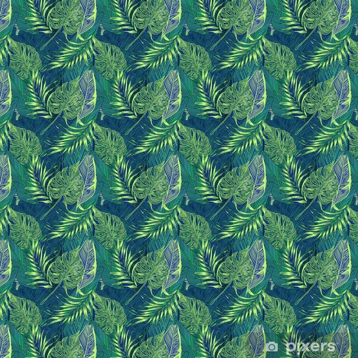 Papier peint vinyle sur mesure Plantes tropicales - Paysages