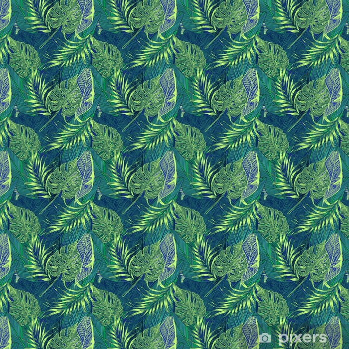 Tapeta winylowa Rośliny tropikalne - Pejzaż