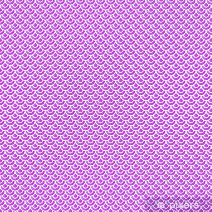 Vinyl behang, op maat gemaakt Pastel violet naadloos patroon - Grafische Bronnen