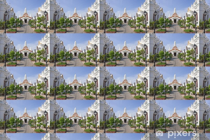 Tapeta na wymiar winylowa Świątynia w Bangkoku w Tajlandii, Wat Pichai yatikaram - Religie