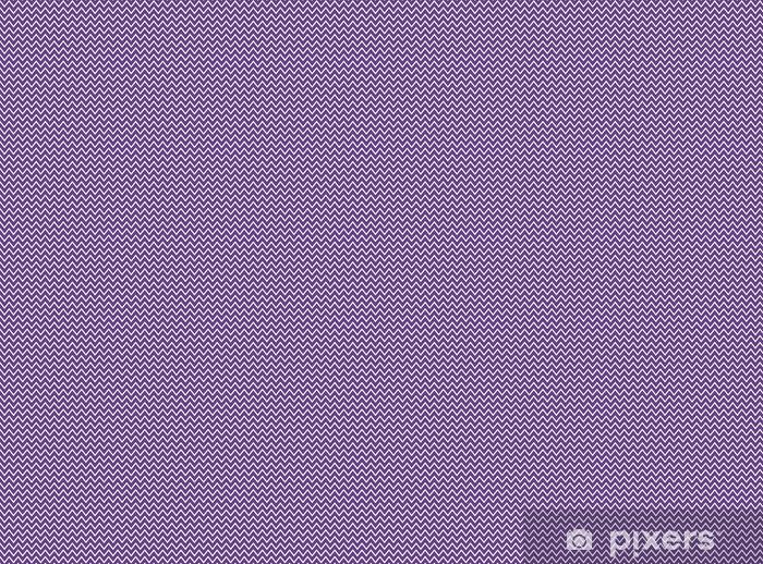 Vinyl behang, op maat gemaakt Zackenmuster violett weiß - Grafische Bronnen