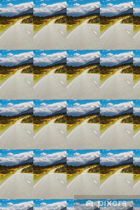 Vinyl behang, op maat gemaakt Mountain road - Thema's