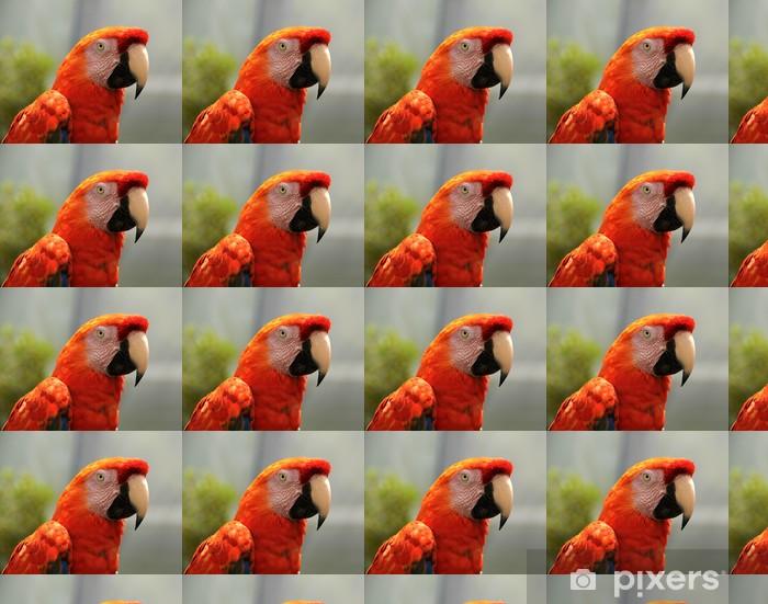 Vinyltapete nach Maß Red Parrot - Themen