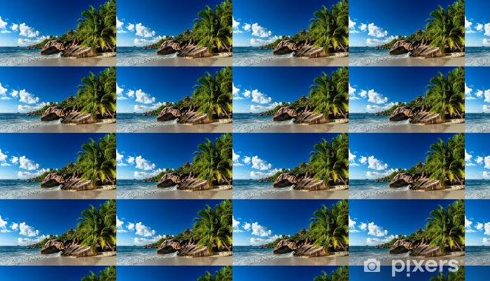 Papel pintado estándar a medida Strand auf den seychellen - Paisajes
