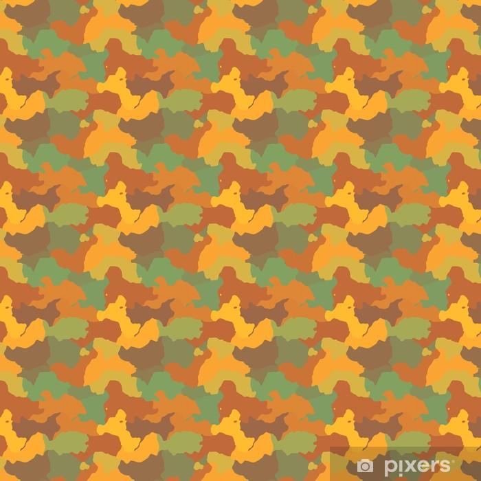 Papier peint vinyle sur mesure Camouflage - Criteo