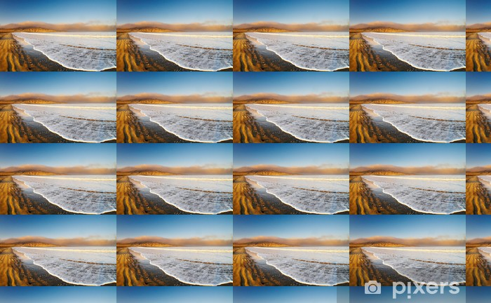 Papier peint vinyle sur mesure Côte atlantique, Luderitz, en Namibie, Agate Beach - Afrique