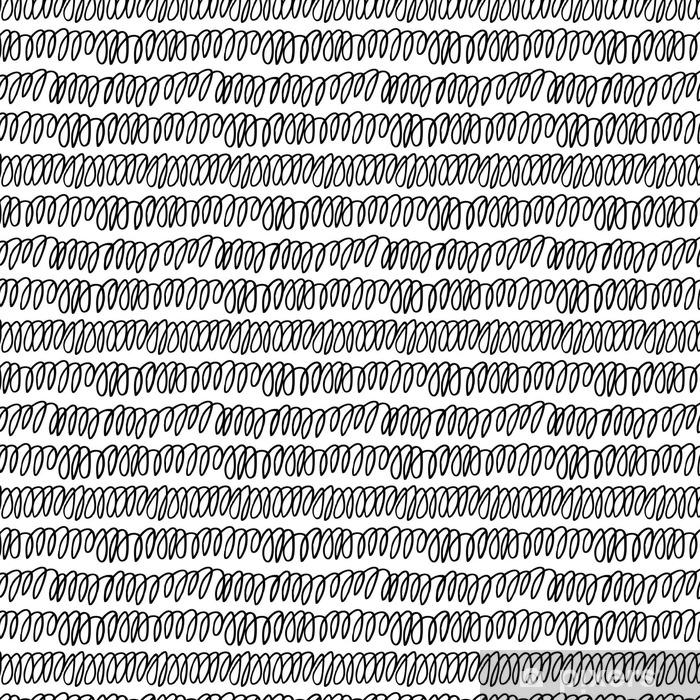 Papel pintado estándar a medida Patrón sin fisuras con garabatos dibujados a mano de la textura - Recursos gráficos