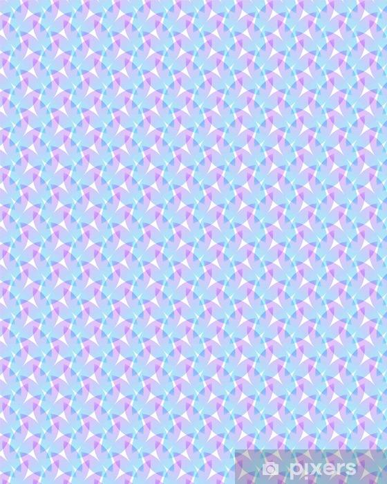 Tapeta na wymiar winylowa Streszczenie różowe i niebieskie tło, geometryczne kształty z wielu cienkich linii. Jednolite wektor wzorca. Płatki lotosu wzór. ilustracji wektorowych. - Zasoby graficzne