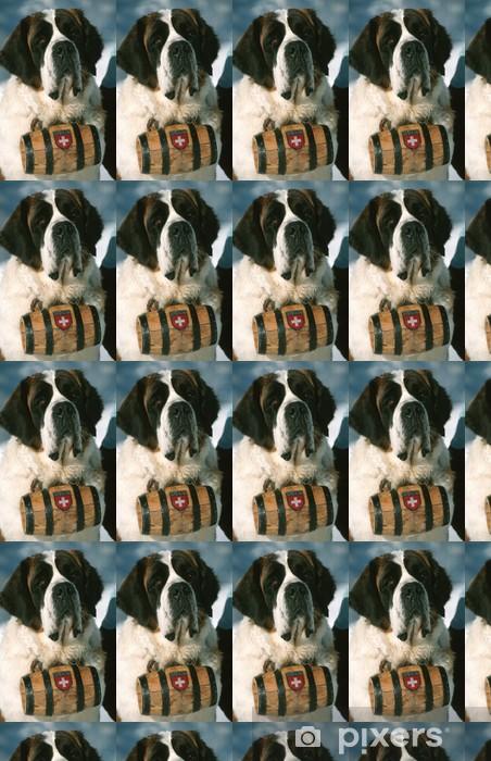 Vinyltapete nach Maß St-Bernard chien - Säugetiere