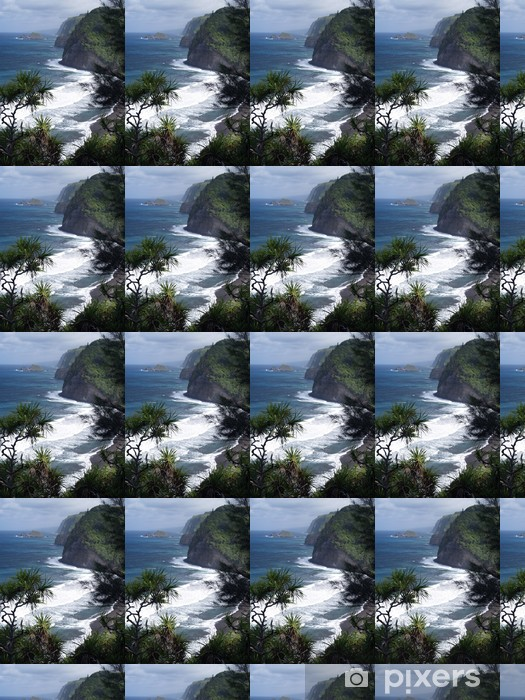 Papier peint vinyle sur mesure Pololu Valley à Big Island, Hawaii - Thèmes