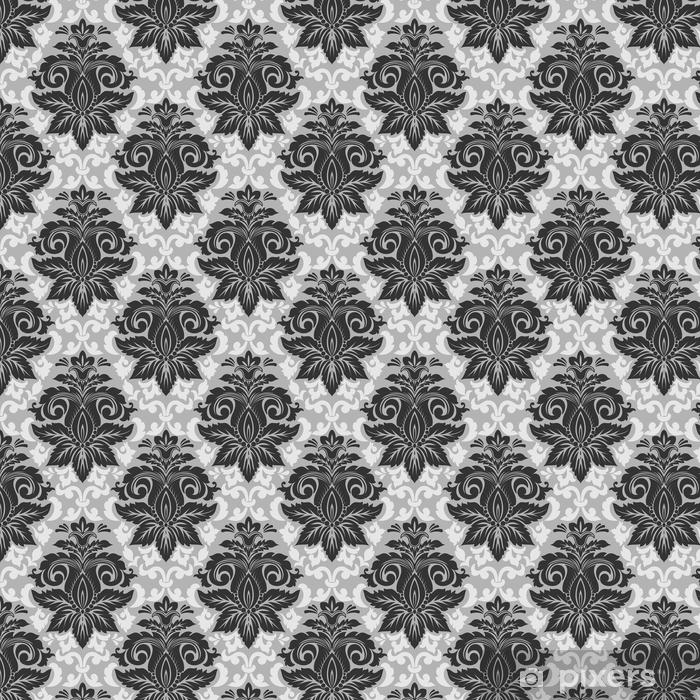 Element adamaszku wektor wzór. klasyczny luksus staroświecki barokowy ornament, królewski wiktoriański bez szwu tekstury do tapet, tekstylne, owijania. wykwintny kwiatowy barokowy szablon.