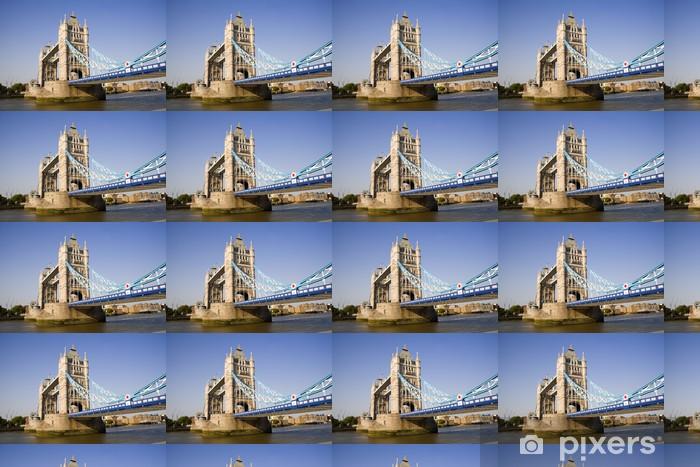 Papier peint vinyle sur mesure London Tower Bridge - Thèmes