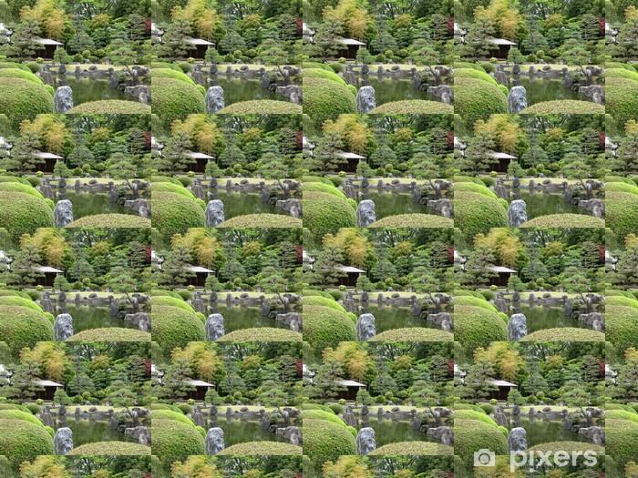 Vinylová tapeta na míru Japonská zahrada - Asie