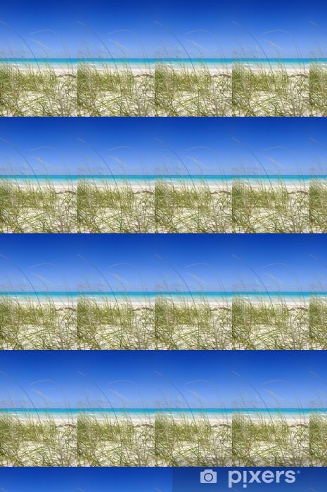 Papier peint vinyle sur mesure Tropical beach - Amérique