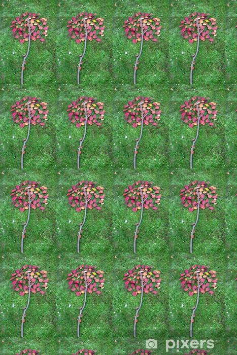 Carta da parati in vinile su misura Foglie di autunno in una natura morta - Stagioni