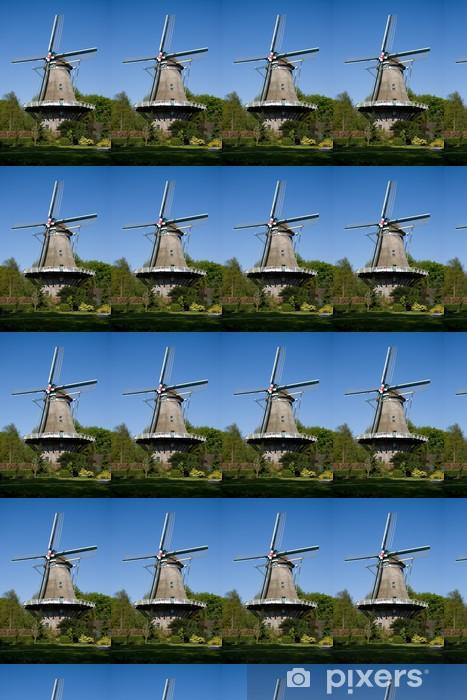 Papier peint vinyle sur mesure Néerlandais moulin à vent - Autres