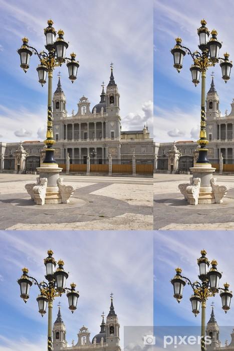 Carta da Parati a Motivi in Vinile Lanterna Charming nello stile di un barocco - Città europee