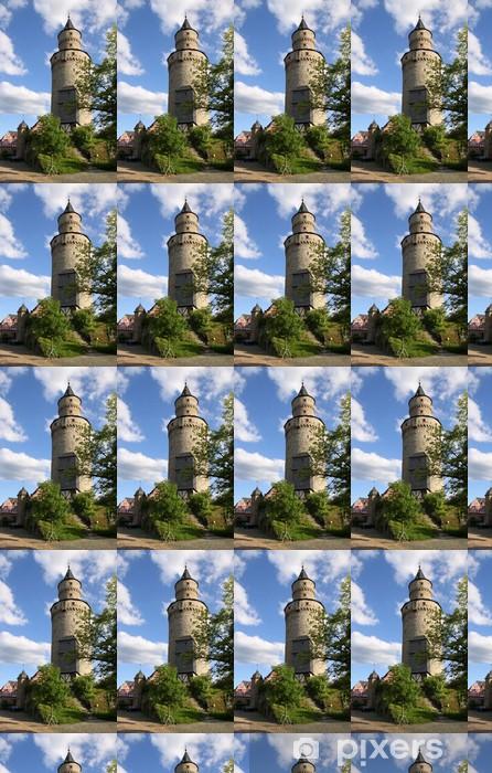 Papier peint vinyle sur mesure Sorcière Tour dans le château de Idstein - Monuments