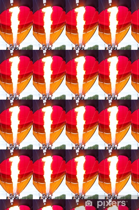 Vinyltapete nach Maß Heißluftballon - Luftverkehr
