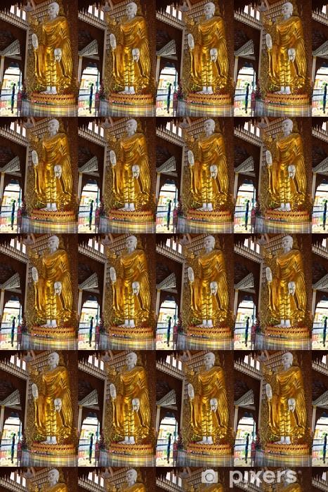 Papier peint vinyle sur mesure Bouddha statue - Asie