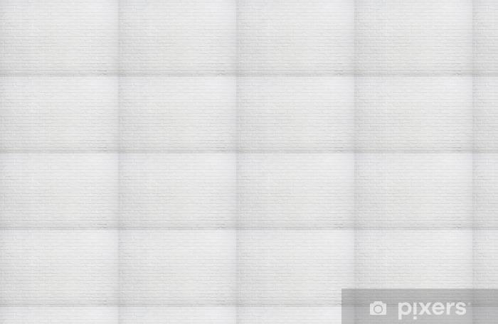 Papier peint vinyle sur mesure Photo d'arrière-plan mur brique blanche - Ressources graphiques
