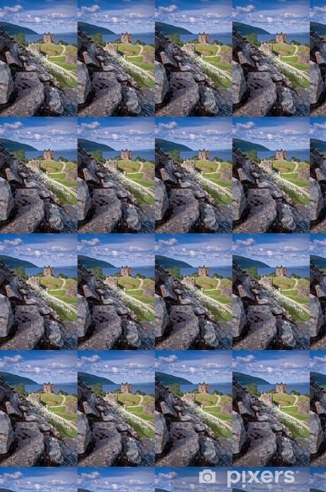 Urquhart Castle Vinyl custom-made wallpaper - Europe