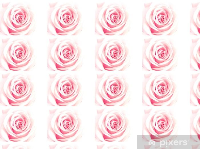 Tapeta na wymiar winylowa Różowy róża - Szczęście