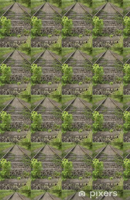 Tapeta na wymiar winylowa Nieczynnej linii kolejowej - Transport drogowy