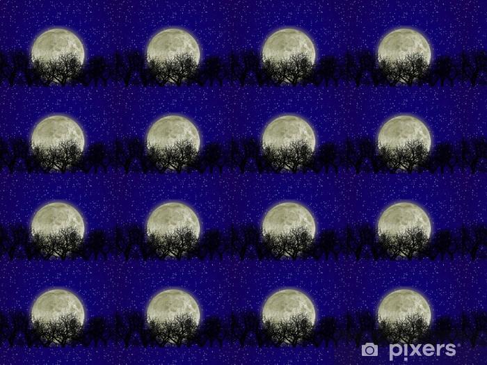 Tapeta na wymiar winylowa Księżyc i las - Tematy