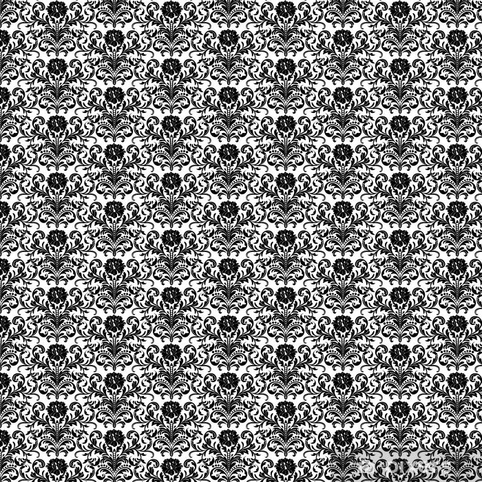 Tapeta na wymiar winylowa Kwiatowy wzór bez szwu tapety - Zasoby graficzne
